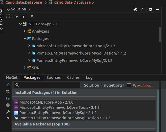 How to reverse engineer MySql Database EF Core   Gary Woodfine